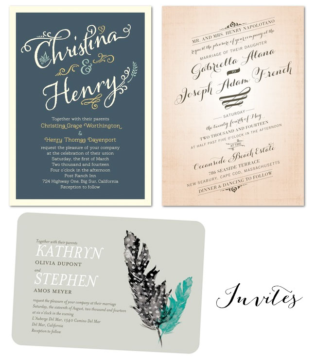 Wedding Invites From Paper Divas