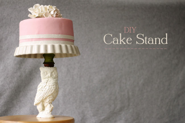 wedding cake stands diy diy cake stand 25650