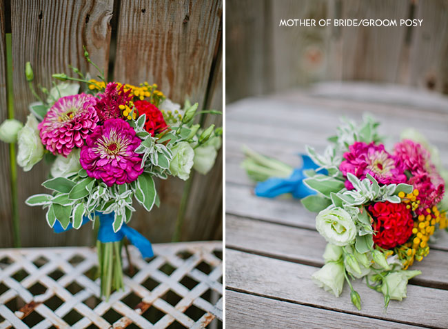 DIY Mother of bride/groom posy