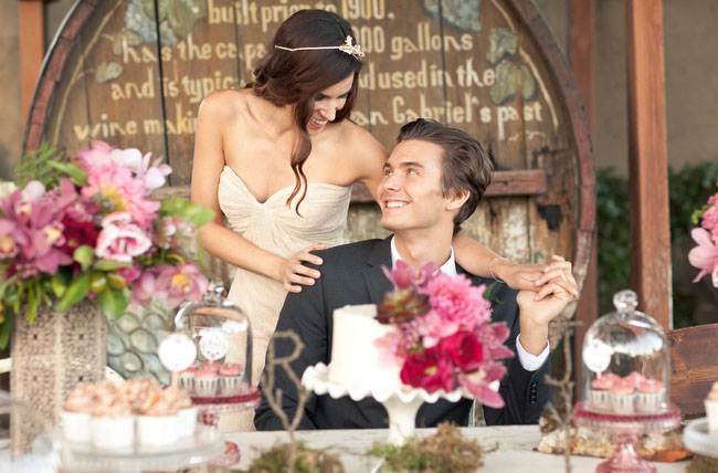 fall romance styled shoot