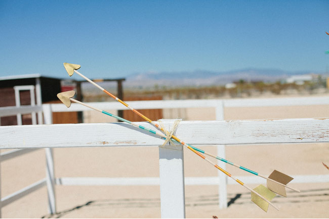 arrows wedding decor
