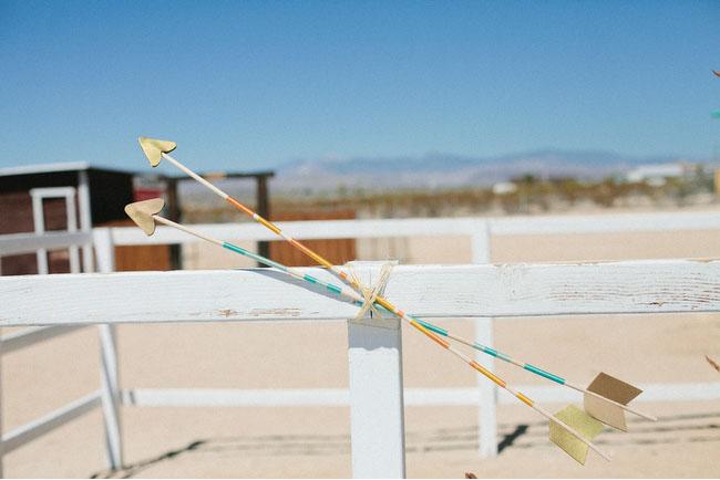 arrows wedding decor