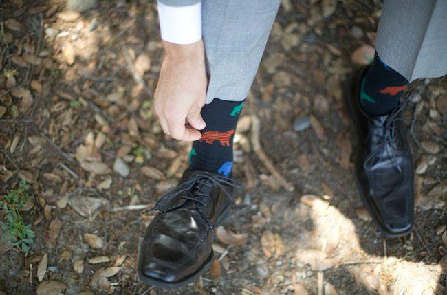 groom socks