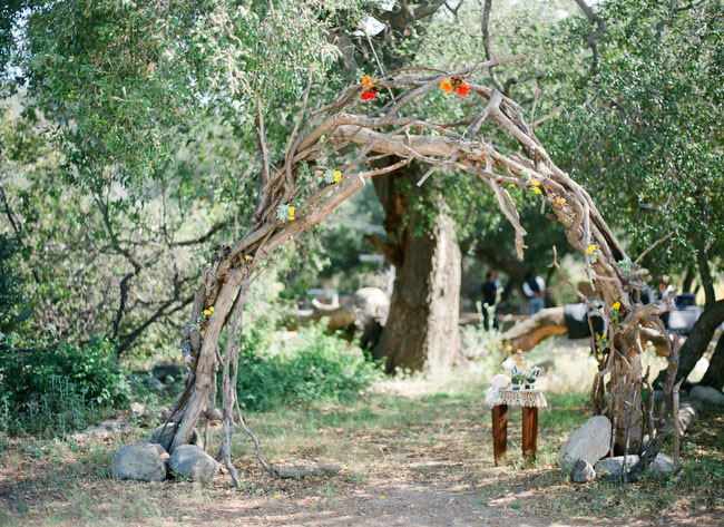 Handmade Wedding At Parker Ranch Lauren Daniel Green