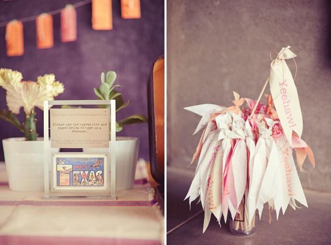 ribbon wand wedding sticks