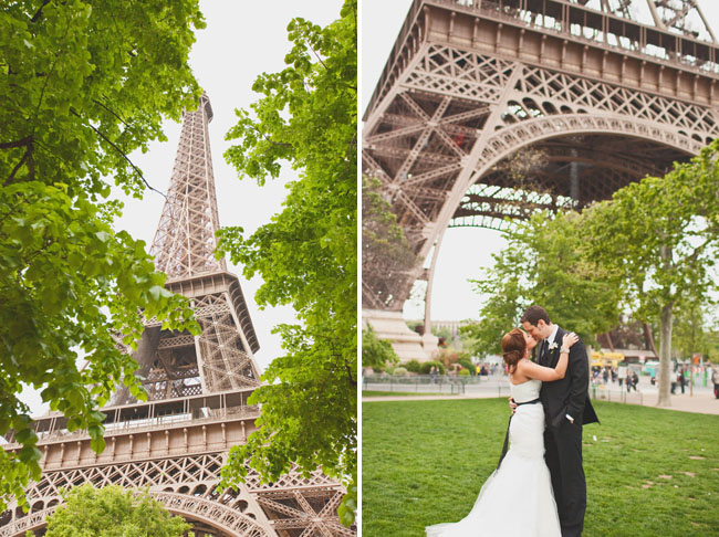 paris elopement effiel tower