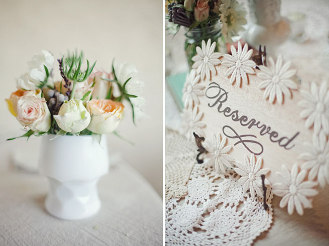 doily table runners