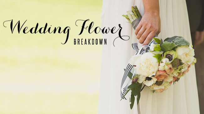 Wedding Flower Breakdown