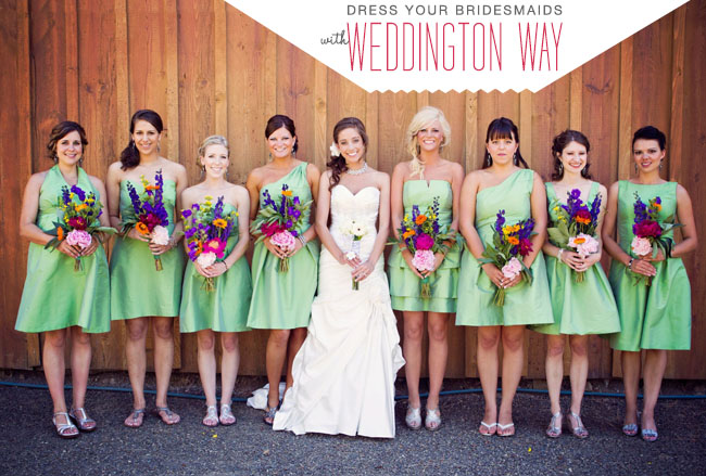 Weddington Way Bridesmaids dresses
