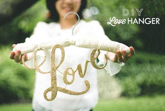 DIY Love Hanger
