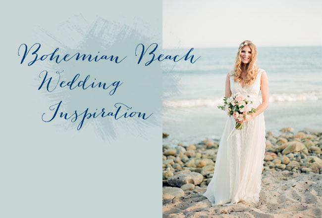 Caribbean Boho Wedding Inspiration: Bohemian Beach Wedding Inspiration