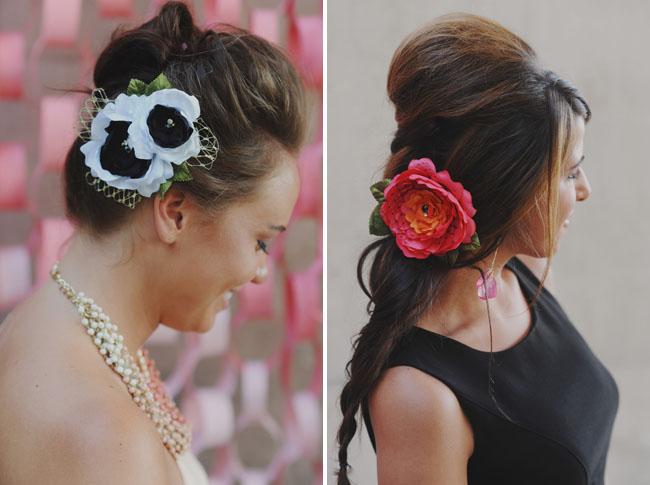 bridal shower hair peices