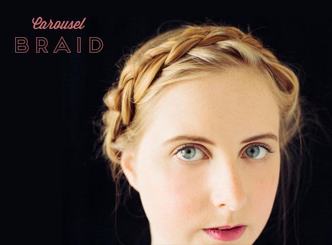 carousel braid DIY