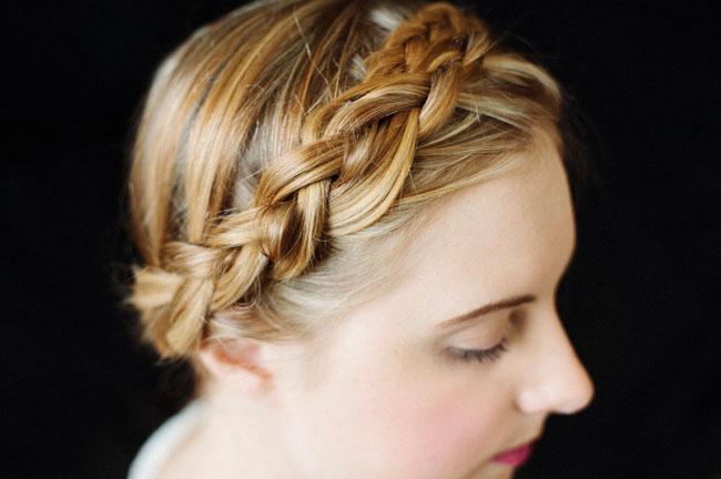 Pleasant Braids For Your Bridesmaids Green Wedding Shoes Weddings Short Hairstyles Gunalazisus