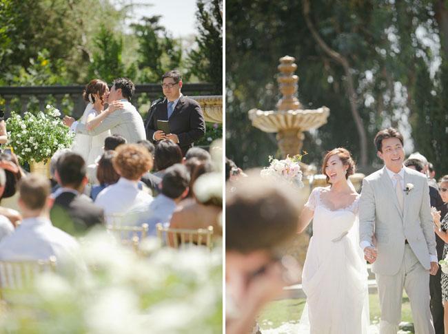 chriselle wedding ceremony