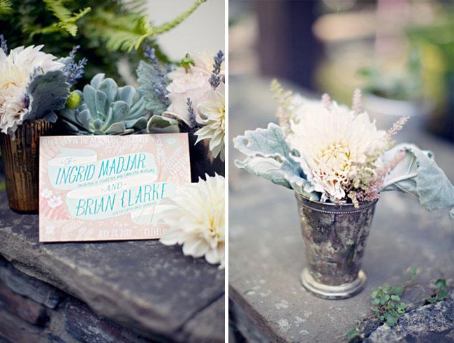 vintage flower holder