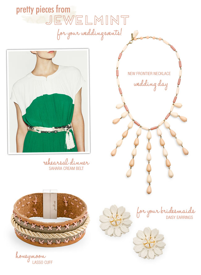 Jewelmint for your wedding day