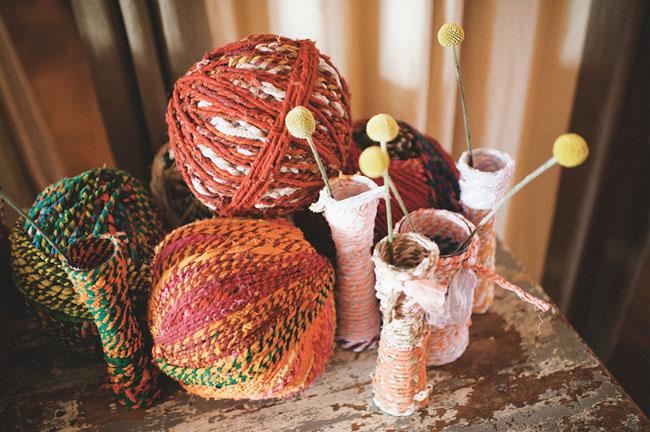 yarn ball decor