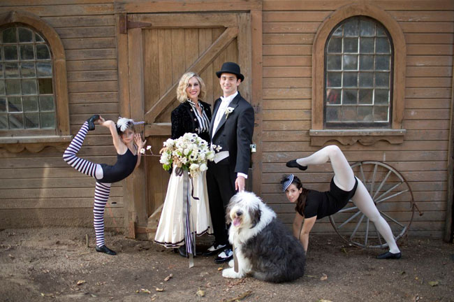 night circus wedding inspiration