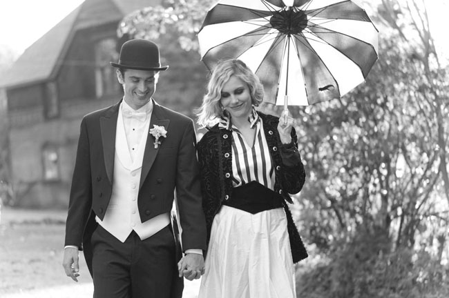 Black And White Vintage Umbrella