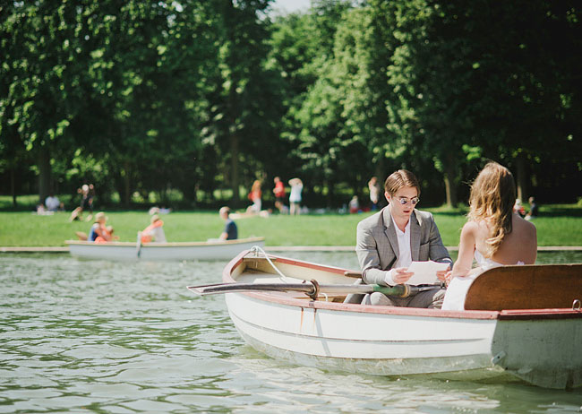 paris elopement canoe