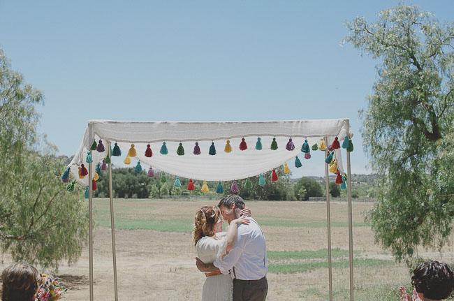 tassle ceremony chuppah