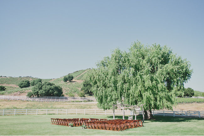 saddle rock ranch ceremony