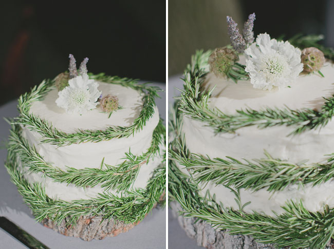 rosemary wrapped cake