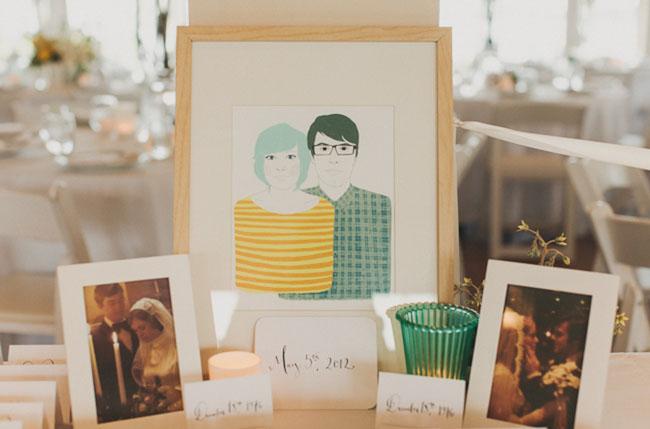 wedding drawings of bride and groom
