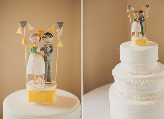 peronsalized wedding cake topper