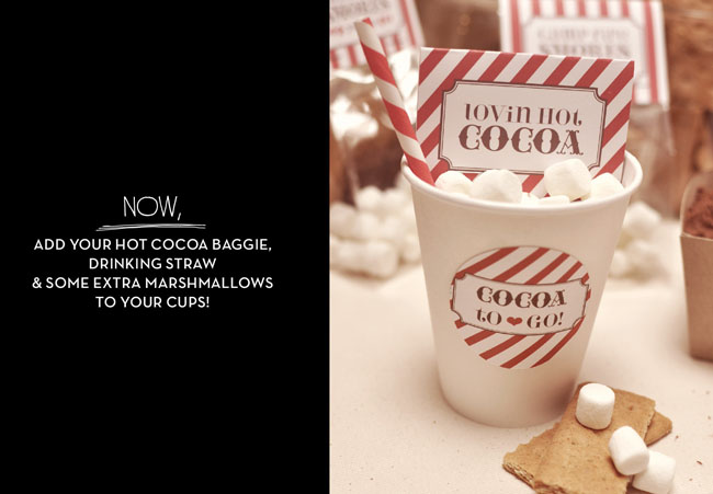 DIY Hot Cocoa Tags