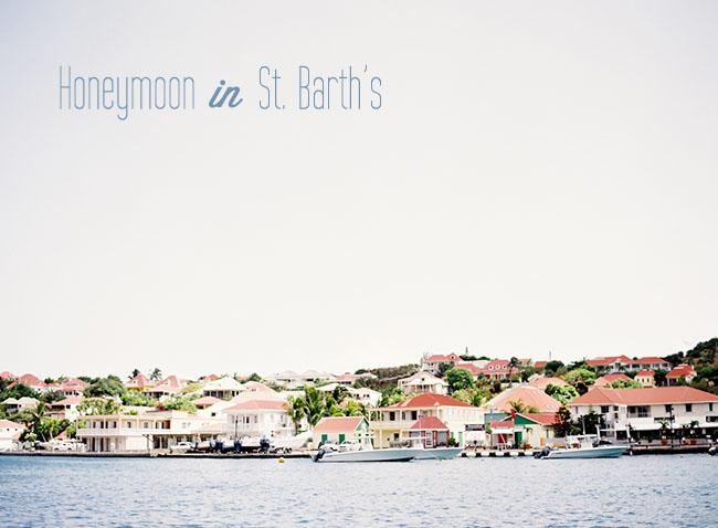 St. Barth's Honeymoon