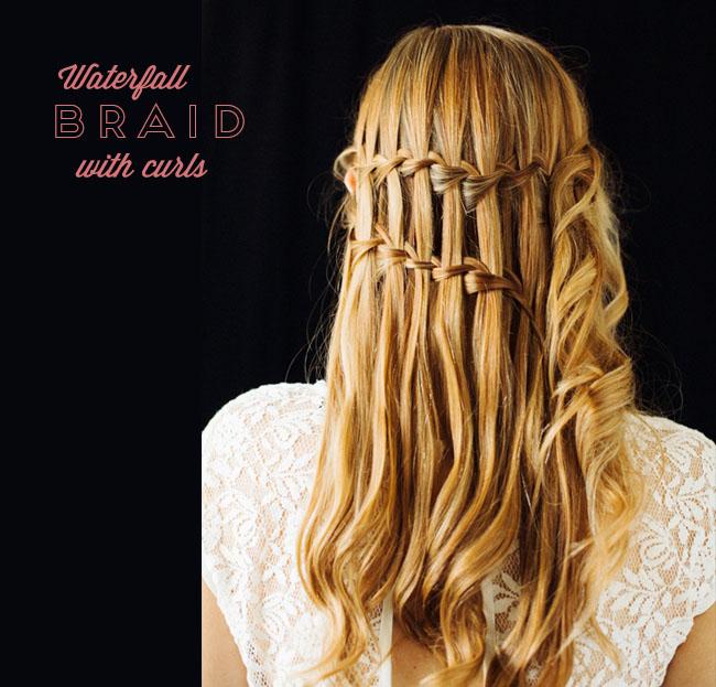 Waterfall Braid DIY