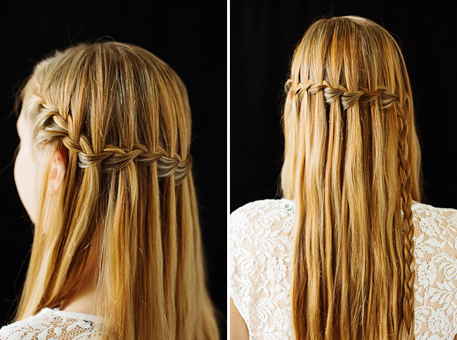 Waterfall Braid DIY