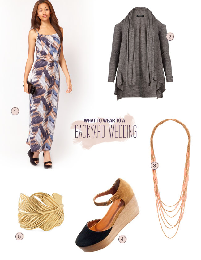What To Wear A Backyard Wedding