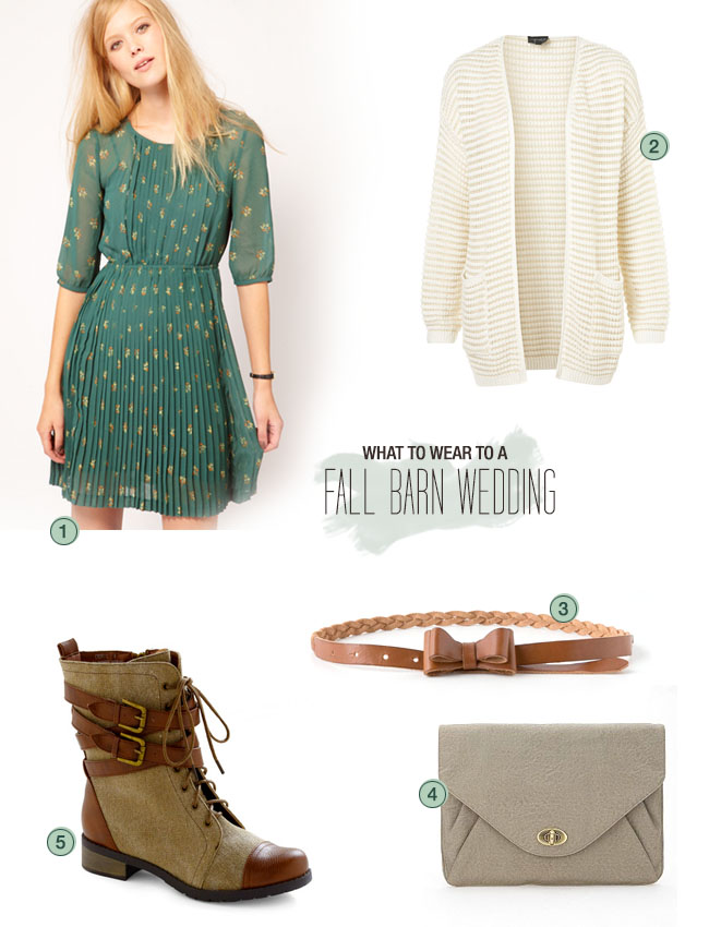 Fall Dresses To Wear To A Country Wedding What to Wear to a Fall Barn