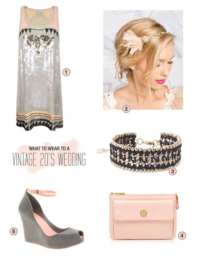 What to Wear to a Vintage 20's Wedding