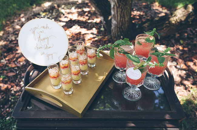 signature wedding drink