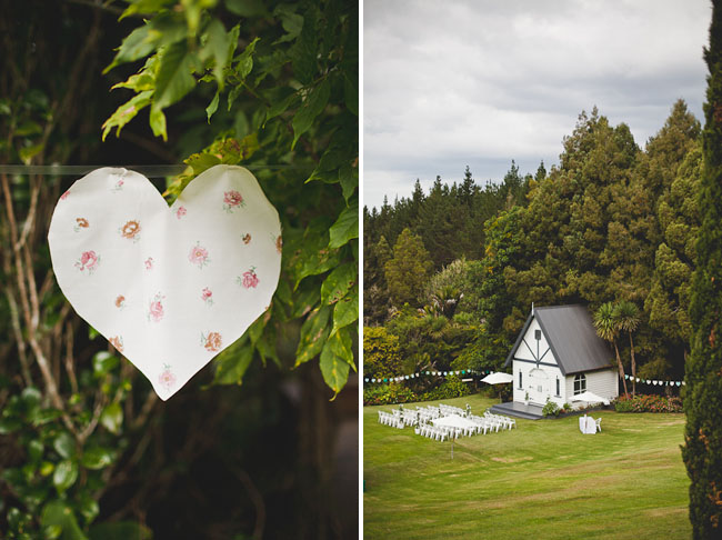 paper heart bunting