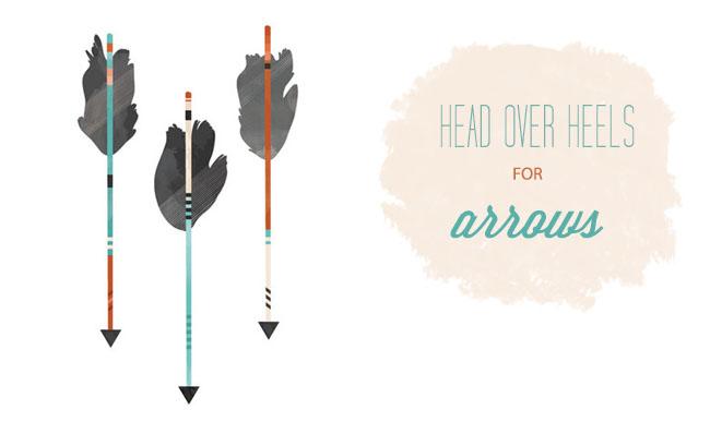 arrow print