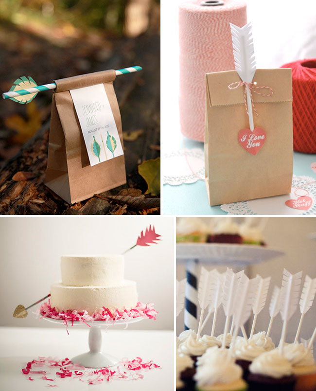 arrow-wedding-favors