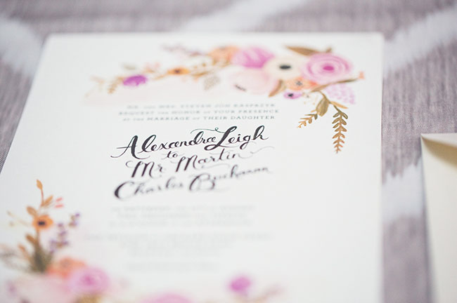 Garden Wedding Invitations: Garden Styled Wedding Inspiration With Balloons