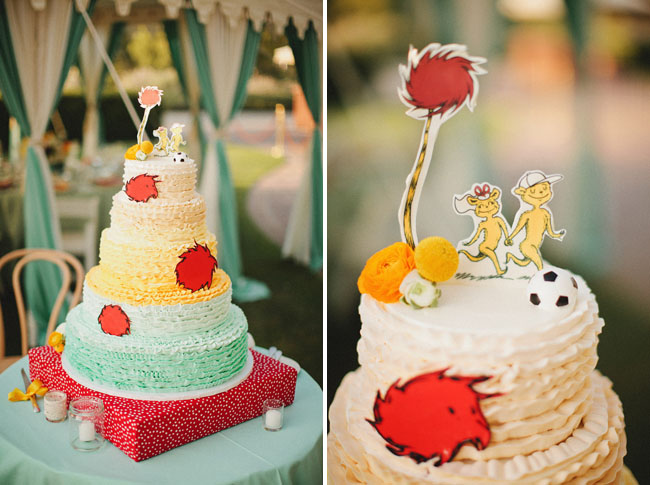 dr seuss wedding cake