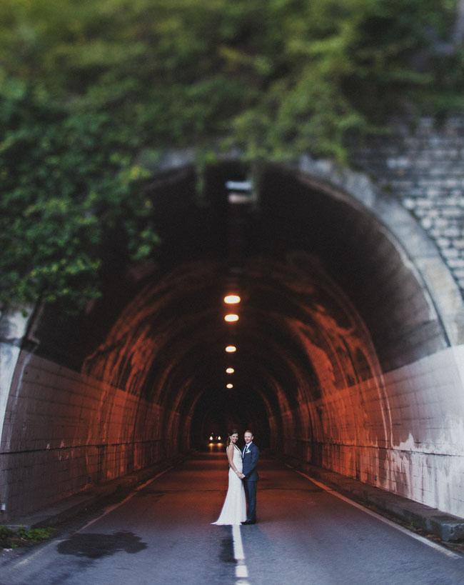 bride and groom lake como