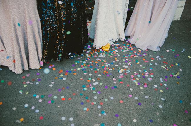 paper dot confetti