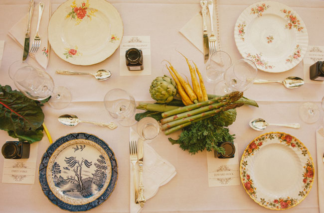 vegetable centerpieces