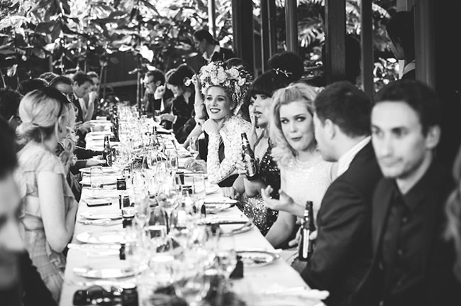 garden party reception