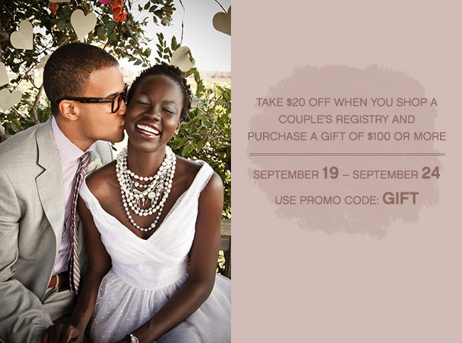 Macy's Registry – and Sept Promo! | Green Wedding Shoes | Weddings ...