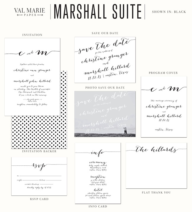 val marie paper marshall suite