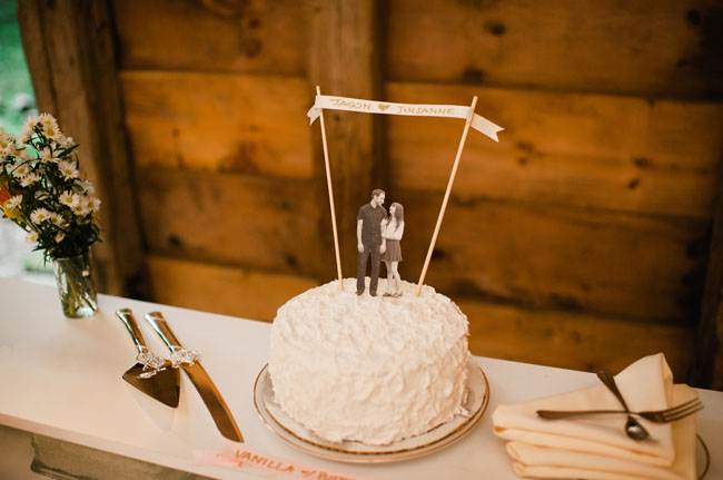 easy homemade wedding cake toppers hudson valley handmade wedding julianne jason 13822